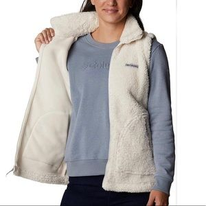 COLUMBIA Winter Pass Sherpa Vest sz M